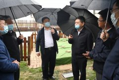 生态环境部部长黄润秋调研雄安新区白洋淀生态环境治理