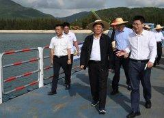 生态环境部党组书记孙金龙赴海南调研生态文明试验区建