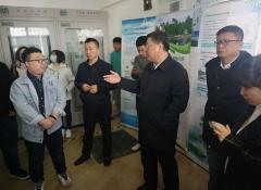 生态环境部调研组到吉林市桦甸市开展松花湖河湖氮磷标