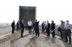 巴音郭楞州召开库尔勒区域矿山企业扬尘综合