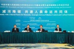 国合会2021年圆桌会暨生态环保国际合