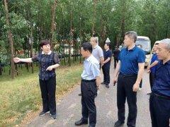 济宁市领导带队巡查南四湖沿线环境问