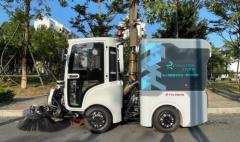 碧桂园满国联合于万智驾推出无人驾驶环卫车