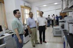 湖南省生态环境在长沙调研绿色环保产