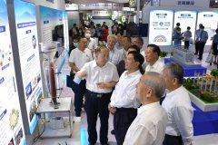 生态环境部党组书记孙金龙参观第十九届中国国际环保展