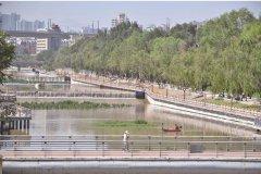 六一桥至五四桥段水污染治理工程收尾