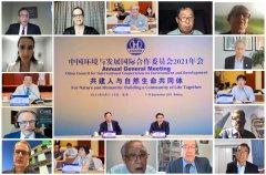 国合会2021年年会组织政策研究专题对话