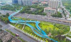 成都1.62公里空中绿廊连接城北两大最美生态组团