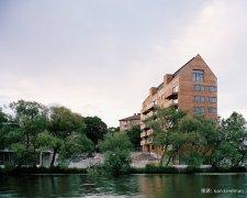 现代木结构助力生态城建设 瑞典木业持