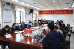 2021-2022年宁夏冬春季大气污染攻坚环境空气质量深度分析工作专班正式启动