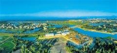 海南省首座地埋式水质净化中心启动试